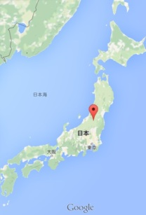 Kitakata location