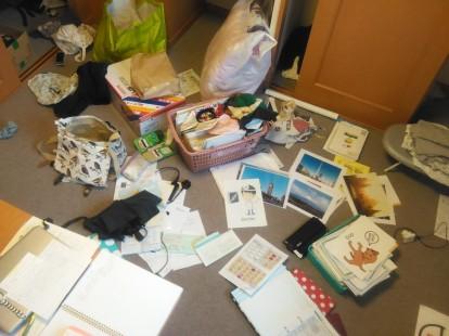 floor mess